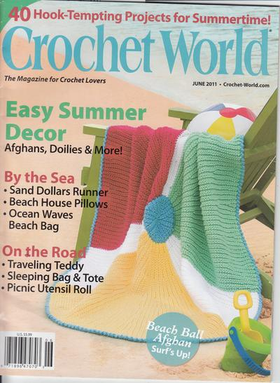 Crochet World June 2011