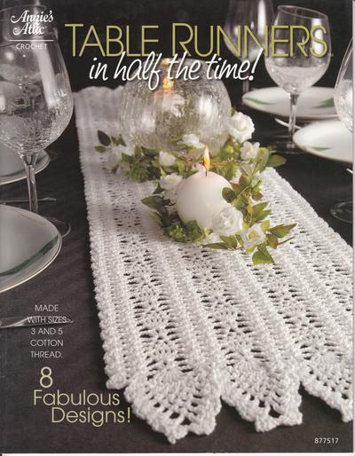 Table Runners In half the time